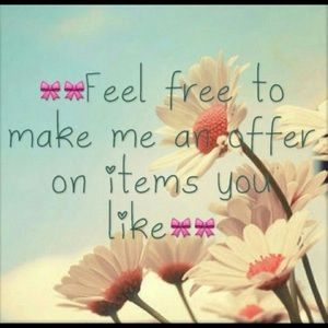 Other - I love offers 💖💗💖💗💖